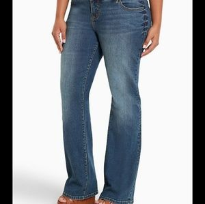 Torrid Relaxed Boot jeans size 18